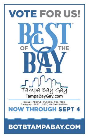 Tampa bay gay area